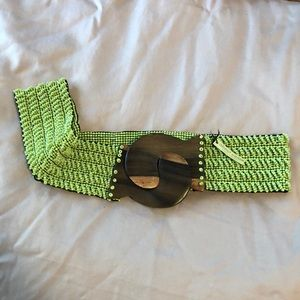 Accessories - Beaded stretchy belt